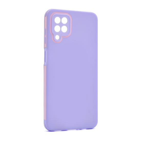 Futrola Summer stripe za Samsung A125F Galaxy A12 lila