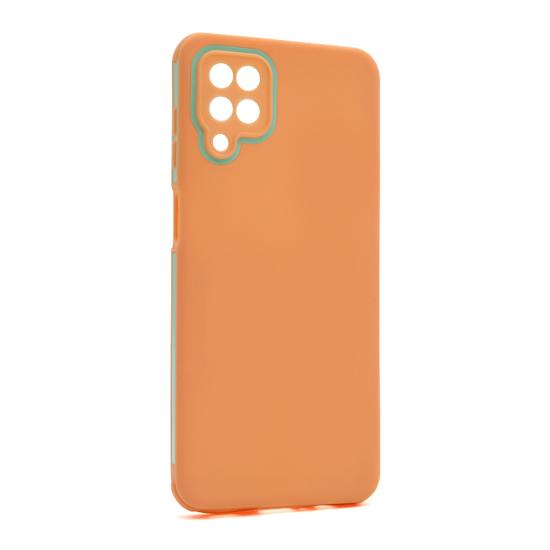 Futrola Summer stripe za Samsung A125F Galaxy A12 narandzasta