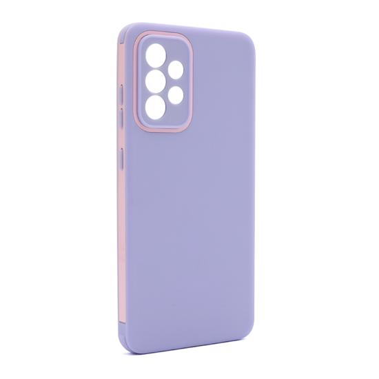 Futrola Summer stripe za Samsung A525F-A526B Galaxy A52 4G-A52 5G lila