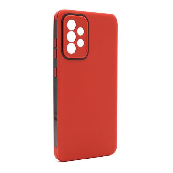 Futrola Summer stripe za Samsung A725F-A726B Galaxy A72 4G-A72 5G crvena