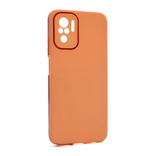 Futrola Summer stripe za Xiaomi Redmi Note 10-Note 10s narandžasta