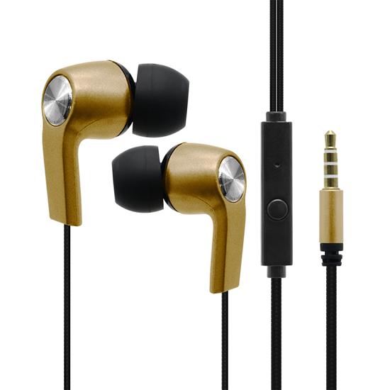 Handsfree slušalice OFIA univerzalne 3.5mm P36 crno-zlatne