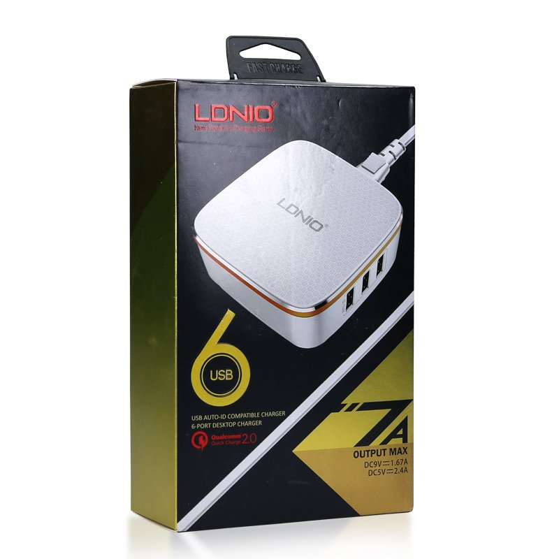 Kućni punjač LDNIO 6X USB port A6704