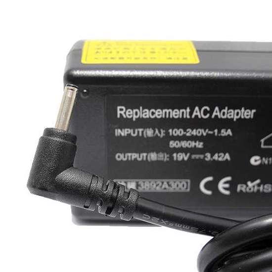 Punjač za laptop Acer 19V 3.42A (3.0-1.0) ugao 90
