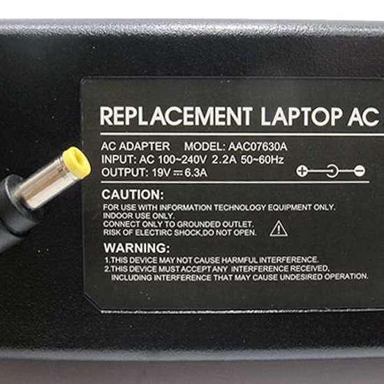 Punjač za laptop Acer 19V 6.3A (5.5-2.5) AC07630A