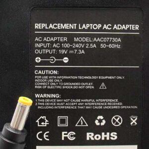 Punjač za laptop Acer 19V 7.3A (5.5-2.5) AC07730A