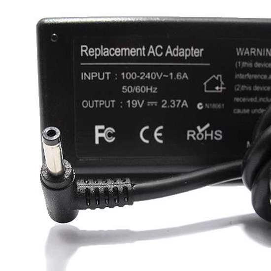 Punjač za laptop Asus 19V 2.37A (4.0-1.35) ugao 90