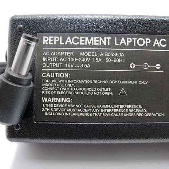 Punjač za laptop IBM 16V 3.5A (5.5-2.5) ugao 90 IB5350A