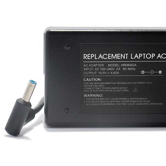 Punjač za laptop za HP 19.5V 4.62A (4.5-3.0 PIN) ugao 90 HR08462A