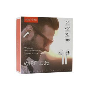 Slušalice Bluetooth Airpods Mini Pro bijele