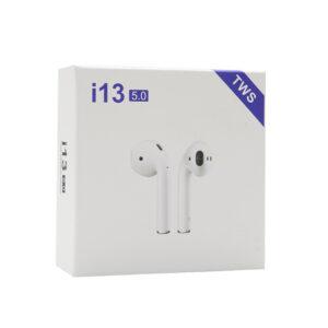 Slušalice Bluetooth Airpods i13 bijele
