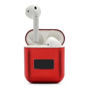 Slušalice Bluetooth Airpods A88 metalic crvene