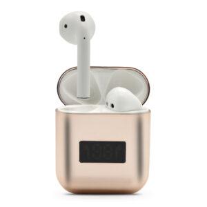 Slušalice Bluetooth Airpods A88 metalic roze