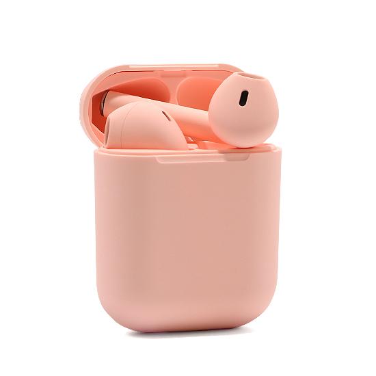 Slusalice Bluetooth Airpods InPods 12 roze