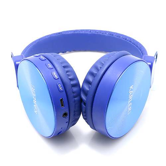 Slušalice KARLER BASS 006 Full Metal 3in1 Bluetooth plave