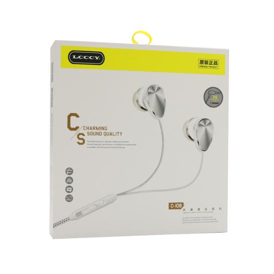 Slušalice LCCCY C-108 3.5mm bijele