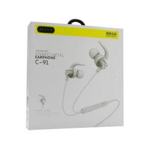 Slušalice LCCCY C-91 3.5mm bijele