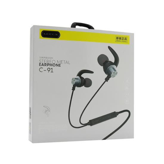 Slušalice LCCCY C-91 3.5mm teget