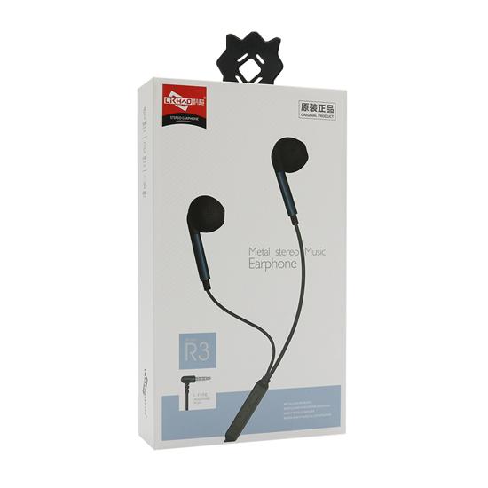 Slušalice LCCCY R3 3.5mm crne