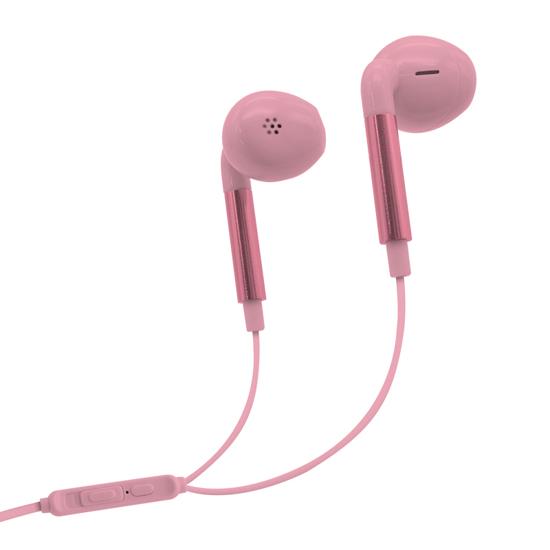 Slušalice LCCCY R3 3.5mm roze
