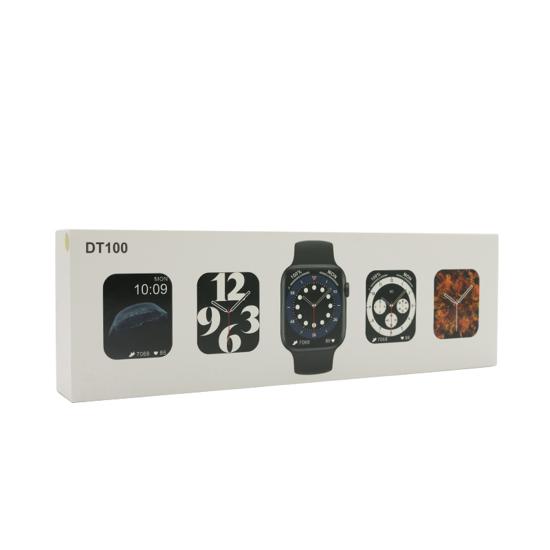 Smart Watch DT100 crni (silikonska narukvica)