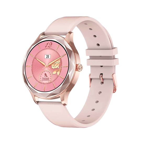 Smart Watch DT86 zlatni (silikonska narukvica)