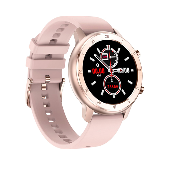 Smart Watch DT89 zlatni (silikonska narukvica)