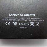 Univerzalni punjač za laptop 90W Ultra Slim crni USN90UDB4