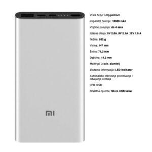 Xiaomi 10000mAh Mi 18W Fast Charge Power Bank 3s